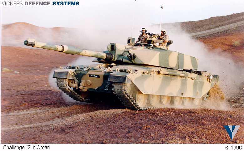 Challenger II in Oman