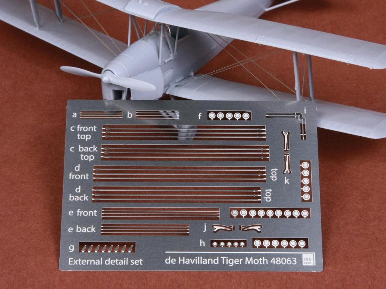 AeroScale : MikroMir: Tiger Moth Rigging Cables