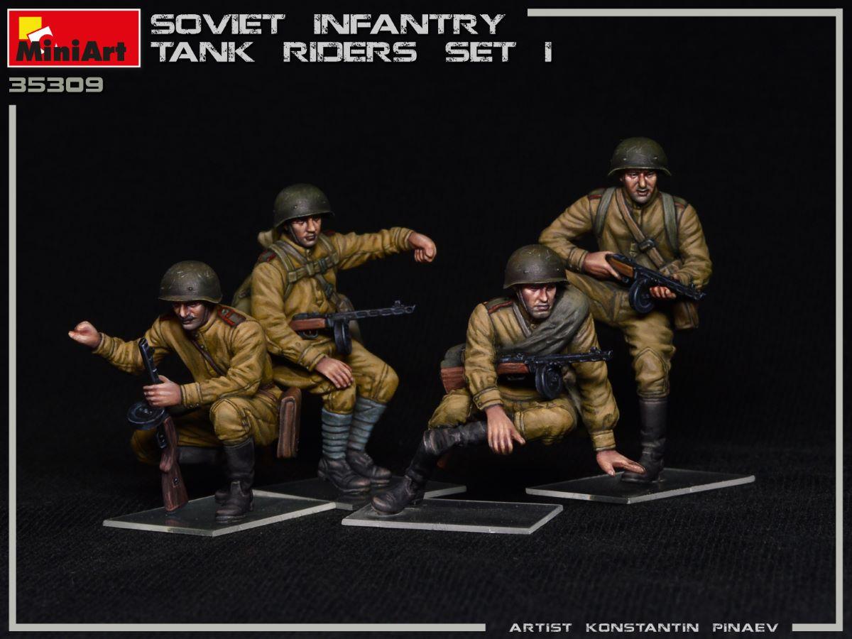 Armorama : MiniArt: Soviet Tank Riders New Images