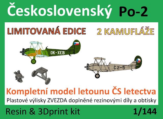 "1/144 Czechoslovak Polikarpov Po-2 ""Corn"" - Vizi Models"