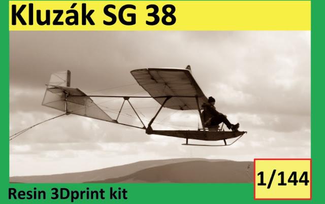 1/144 VZ44032 Glider SG-38 (ŠK-38 Komár) - Vizi Models
